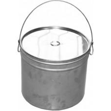 Котелок туристический 7 литров круглый с крышкой