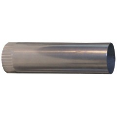 Колено трубы 330х70 для печки стандарт