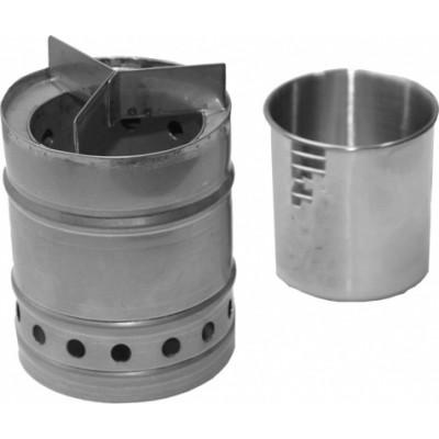 Печка щепочница кружка