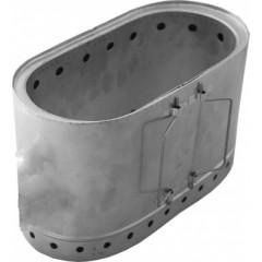 Печка щепочница Овал