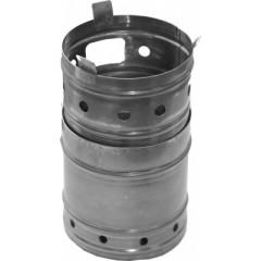 Печка щепочница урал d 120 мм