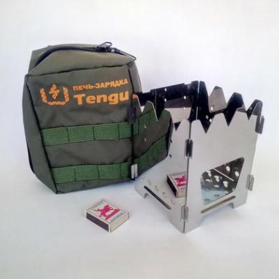 Печь-щепочница Tengu