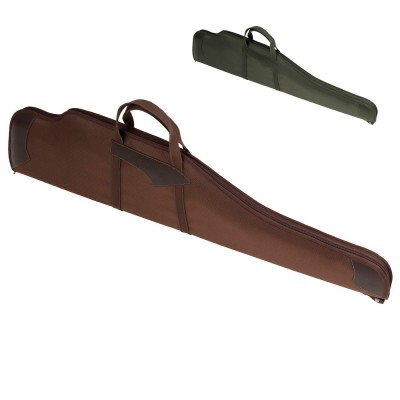 Чехол для оружия с оптикой  кожаными вставками